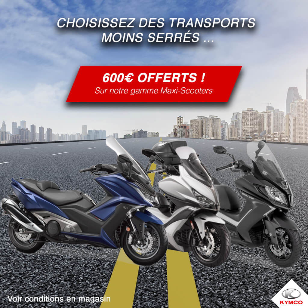 Promo gamme maxi-scooters